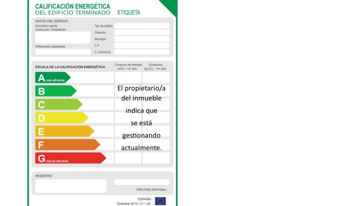 foto certificado energetico
